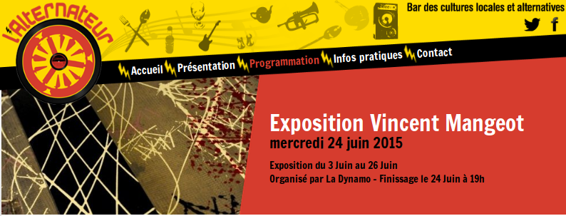 Painting-engineering – Exposition à Niort en Juin 2015